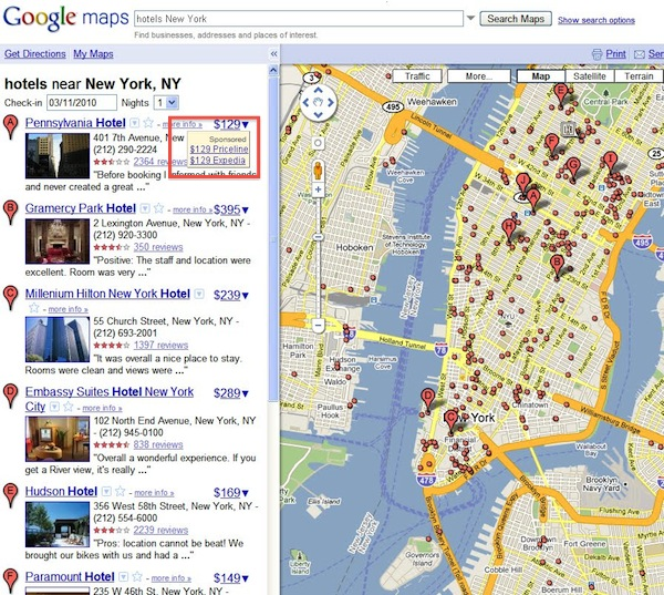 Local Search PPC Blog - Travel around the world in this video made from 3300 google maps screenshots